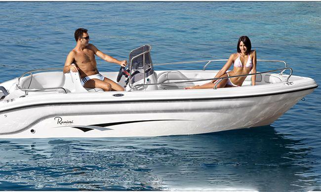Noleggio Barca Ranieri Shark 17